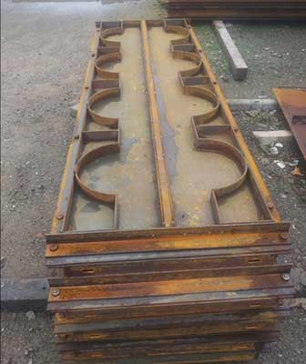 PRE CAST COMPOUND WALL MOULD