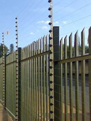 electric fence palisade