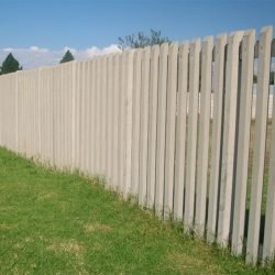 Concrete Palisade Fencing By Counry Wide Walling