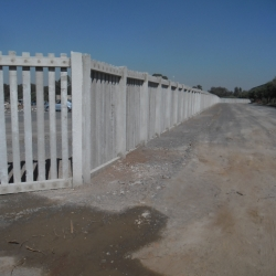 Concrete Palisade Fencing by Country Wide Walling 7