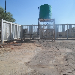 Concrete Palisade Fencing by Country Wide Walling 8
