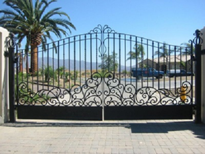 ornamental steel gate