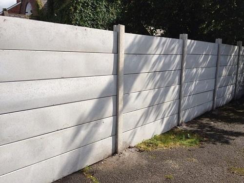 How To Paint A Plain Precast Wall