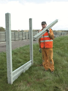 precast concrete fence posts
