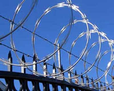 Razor Wire for Extra Security