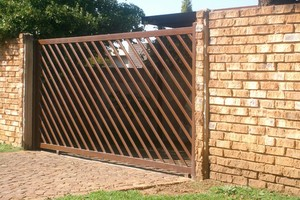 Steel sliding gates 002